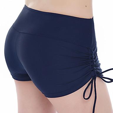 Pentru femei Pantaloni Scurți de Înot Uscare rapidă Chinlon Costume de Baie Costum de plajă Pantaloni Scurti Mată Înot / Surfing / Sporturi Acvatice  / Înaltă Elasticitate