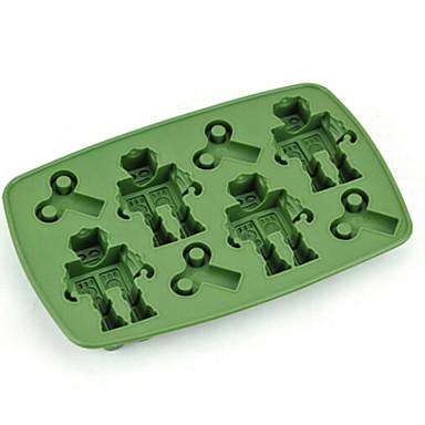 Narzędzia do pieczenia Żel krzemionkowy / ABS + PC Kreatywny gadżet kuchenny / Zrób to Sam Lód / Lód na patyku Przybory deserowe 1 szt.