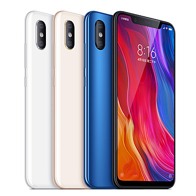 "Xiaomi Mi8(English Only) 6.21 inch "" 4G Smartphone (6GB + 64GB 12+12 mp Snapdragon 845 3400 mAh) #06717605"