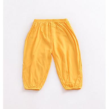 Amichevole Bambino Unisex Essenziale Tinta Unita Poliestere Pantaloni Vino #06725323 Colori Fantasiosi