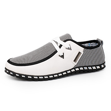 abordables Meilleures Ventes-Homme Chaussures de confort Polyuréthane Printemps / Automne British Basket Marche Noir / Vert / Blanche / Combinaison / De plein air / EU40