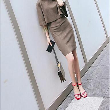 Femme Aiguille 06769592 Confort Chaussures Sandales Cuir Nappa Talon Eté Rouge rxrRqA