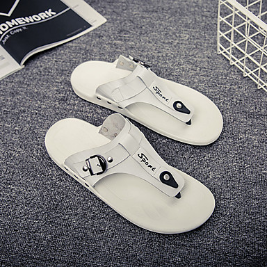 Cuir Claire Confort Sandales Brun Eté Blanc Noir Chaussures Homme D9EI2WH