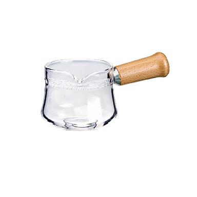 sticlă / Lemn Rezistentă la căldură / Ceai neregulat 1 buc Filtre / Strecurătoare Ceai / ceainic