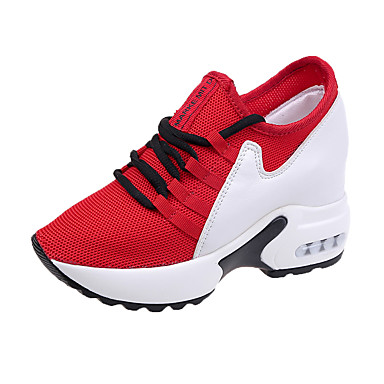 39653b3f471 Women s Mesh   PU(Polyurethane) Spring   Summer Slingback Athletic Shoes  Walking Shoes Wedge