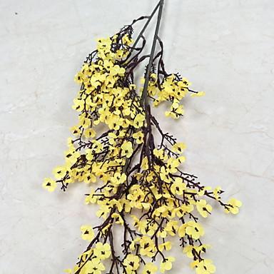 Flori artificiale 1 ramură Clasic Rustic / Tradițional Prună Flori Podea