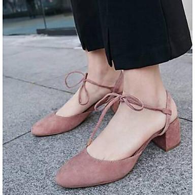 Rose Printemps Bottier Chaussures Talon Daim 06769930 Confort Sandales Femme Amande Noir p8gRwqH