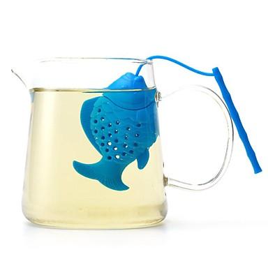 Silicon Draguț / Ceai Peste mic 1 buc Filtre / Strecurătoare Ceai / Infuzoare