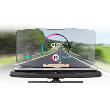 Head Up Display satélite para Carro Display KM / h MPH