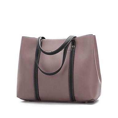 269df88339 Női Táskák Valódi bőr táska szettek 2 db erszényes készlet Gombok / Cipzár  Arcpír rózsaszín / Barna / Bor