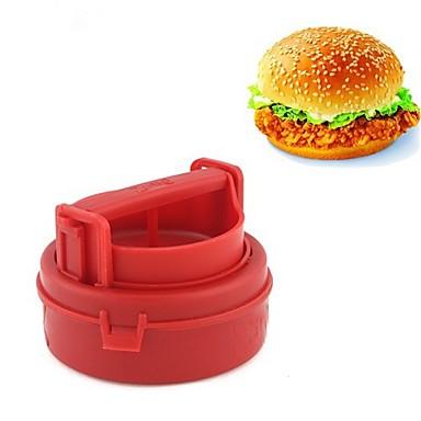 Ustensile de bucătărie PP (Polipropilenă) Manual Spațiu de Cinat & Bucătărie / DIY Tools pentru Sandwich / Hamburger 1 buc