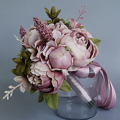 Flori artificiale 1 ramură Clasic / Single Nuntă Bujori Față de masă flori