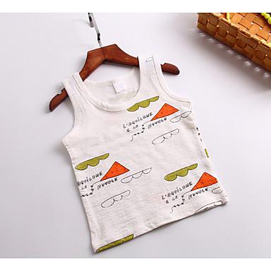 Bebelus Băieți Activ Imprimeu Fără manșon Veste / Copil