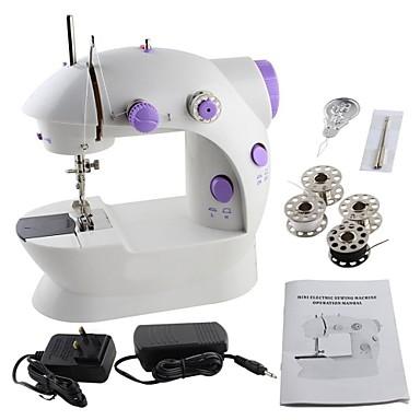 povoljno Setovi alata-lagan šivaći stroj, mini električni kućanski aparat za šivanje lagan za ručno s laganim nožnim papučama