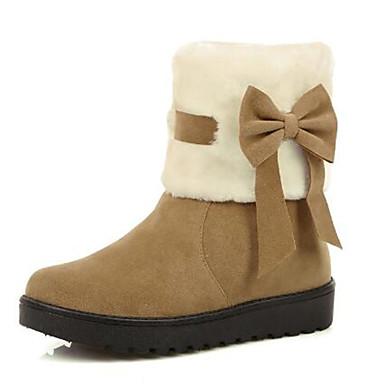 345ecde942d Χαμηλού Κόστους Γυναικείες Μπότες-Γυναικεία Παπούτσια Σουέτ Φθινόπωρο & Χειμώνας  Μπότες Χιονιού Μπότες Επίπεδο
