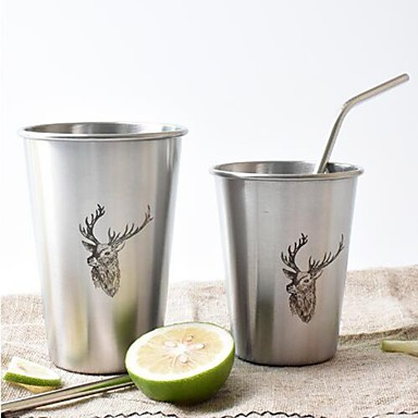 Drinkware Căni Oțel inoxidabil cadou iubit / cadou prietena Petrecere / Casul / Zilnic