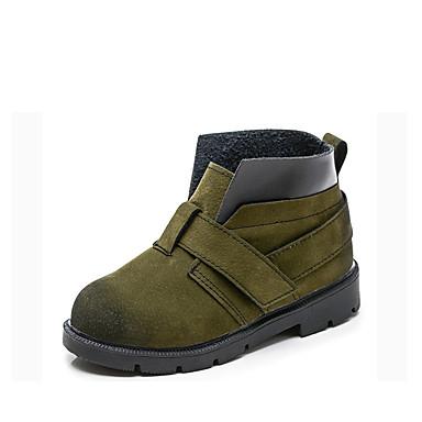 Băieți Pantofi PU Primăvara & toamnă Confortabili Cizme Plimbare pentru Bebeluș Verde