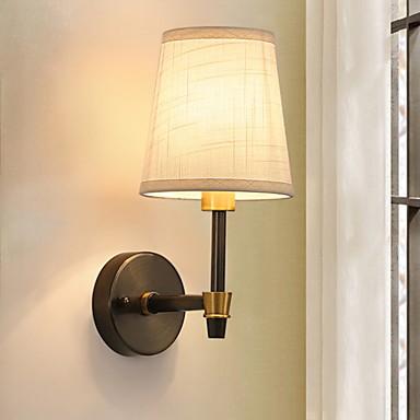 Model nou Simplu Becuri de perete Sufragerie / Coridor Metal Lumina de perete 220-240V