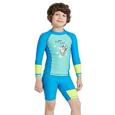 5683245799 Boys' Rash Guard Dive Skin Suit Spandex Sun Shirt UV Sun Protection  Breathable Quick Dry