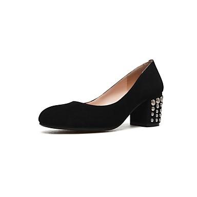 Noir Eté Chaussures Talons Daim Basique à Femme Confort Chaussures Talon Escarpin 06832480 Violet Bottier xEPqUB8w