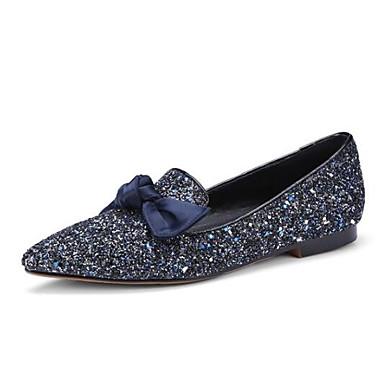 clair Matière Violet 06833359 Bleu Plat de Bout Ballerines Printemps Chaussures fermé synthétique minuit Eté Talon Bleu Confort Femme 5P6aT8xn