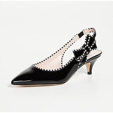 06785848 Noir Confort Nappa Talon Chaussures Sandales Bas Cuir Eté Femme 4wzSIx8qn