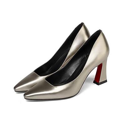 Printemps Or Talon à Vert Aiguille Chaussures 06840803 Noir Cuir Confort Chaussures Femme Talons Nappa TYxv8t8q