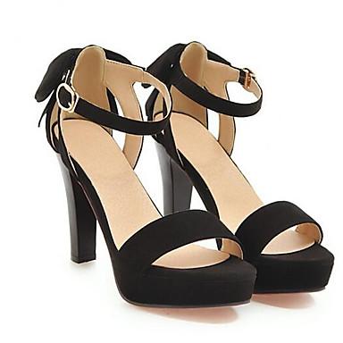 Beige Ante Mujer Gris Tacón Confort Sandalias Zapatos Stiletto Negro 06797683 Verano ROqSHA