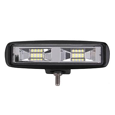 halpa Ajovalot-1 Kappale Auto Lamput 204 W Integroitu LED 2400 lm 16 LED Ulkovalot For Universaali 2018