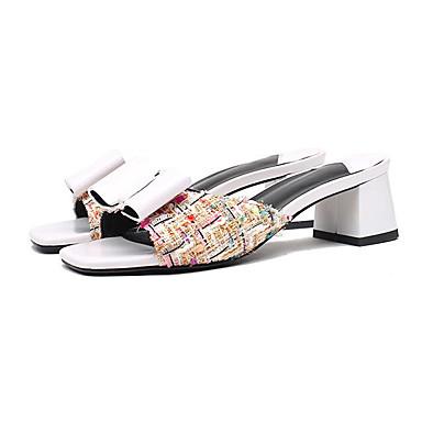 Femme Bottier Sandales Confort Nappa 06810526 Eté Basique Noir Blanc Talon Cuir Escarpin Chaussures r0zqwU6r