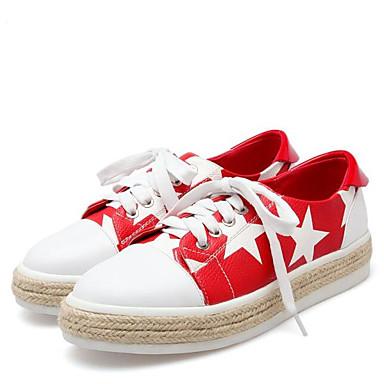 Femme Rouge Jaune Cuir rond Noir Confort Plat Eté Chaussures 06776910 Nappa Bout Basket Talon r1gWr7F