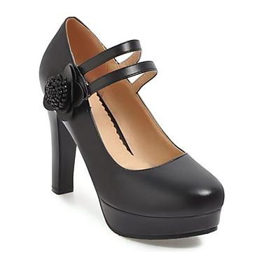 Chaussures Talons Rose Confort Bottier Chaussures Noir Escarpin Basique Automne Beige Talon Femme à Printemps 06831327 Polyuréthane dxqd4C