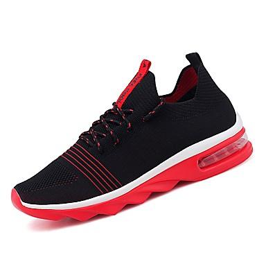 Muškarci Platno Ljeto Udobne cipele Sneakers Obala / Crn / Crno / crvena