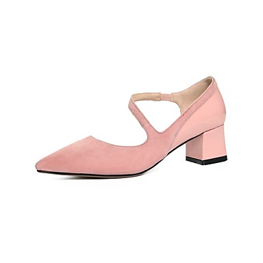 été Talon Noir Rose à Bottier 06840342 Femme Chaussures Daim Talons Chaussures Printemps Confort vBnAq8tw