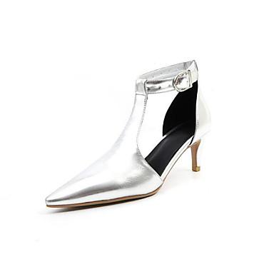 Žene Cipele Sintetika Proljeće Udobne cipele / Obične salonke Cipele na petu Stiletto potpetica Zlato / Pink