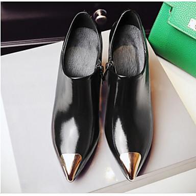 Printemps Talon Chaussures Noir Automne Chaussures Basique mouton à Escarpin de Femme Bottier 06791288 Peau Talons nR4TTS