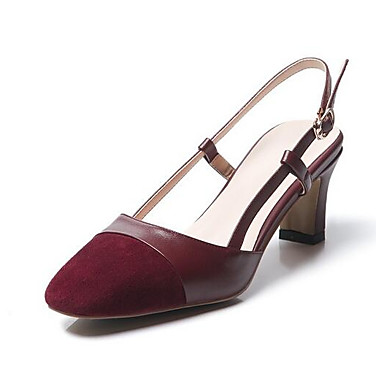 Confort Sandales Eté Femme Chaussures Nappa Noir Vin Talon 06832610 Bottier Gris Cuir HqIRXRw