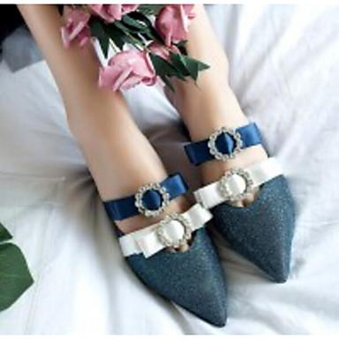 Sabot Bleu Noir 06791460 Satin Talon Bottier Mules royal Printemps Eté Femme amp; Chaussures Confort RXPqPOZw