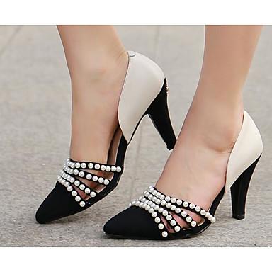 Nappa Amande Chaussures Confort Escarpin Talons Talon Cuir Printemps Automne Aiguille Chaussures à 06810767 Femme Basique wEx1XX