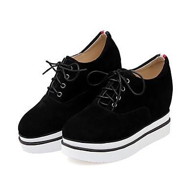 les chaussures de femme kaka (polyuréthane) printemps et été des le confort des été baskets croûton noirs / gris 743ce9