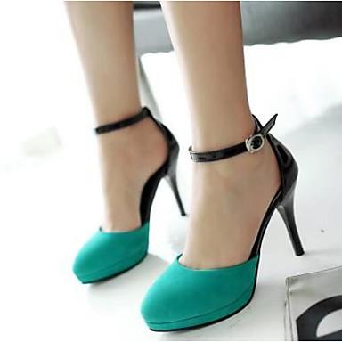 PU Negro Stiletto 06777815 Verano Confort Azul Tacones Mujer Beige Tacón Zapatos 5W1Fqn5x0