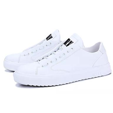 Muškarci Mekana koža Ljeto Udobne cipele Sneakers Obala / Crn / Crvena