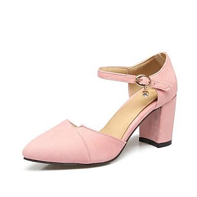 à 06827799 Rose Daim Eté Talon Beige Talons Basique Chaussures Escarpin Chaussures Bottier Rouge Femme Y6O1f7q