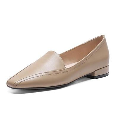 et Bout Confort Marron 06840583 D6148 Nappa Talon Amande Printemps Femme fermé Mocassins Chaussons Plat Cuir Chaussures Eté Noir UXqwx7n0