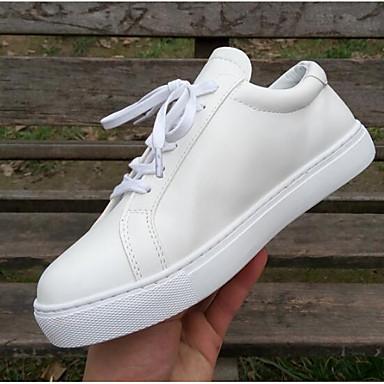 06834617 Cuir Blanc Basket Nappa Talon Bout Printemps Eté Chaussures fermé Confort Femme Plat 5Zq67w