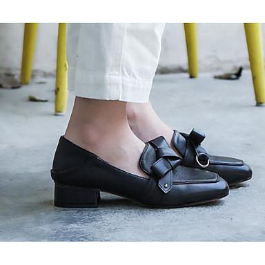 Beige Talon Noir Confort Femme et Printemps Chaussures Nappa Automne Chaussons Cuir D6148 06810735 Mocassins Bottier XqFqxvO7