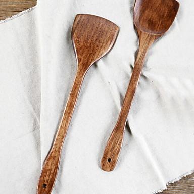 Kuhinja Alati Drvo Alati / zgodan Grip / Kreativna kuhinja gadget lopatica Za posuđe za kuhanje / Nova kuhinjska oprema 1pc