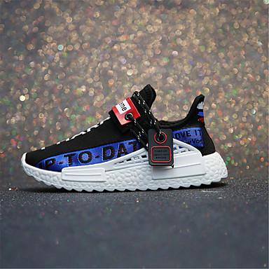 06833379 Femme Basket Chaussures Talon Blanc Automne Plat Noir Confort Tricot xTzAxwFB