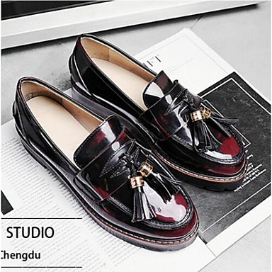 06791606 Eté Femme Cuir Noir Chaussures Blanc Nappa Block Marron Mocassins rond Chaussons Bout D6148 Confort et Heel qtqraw5g