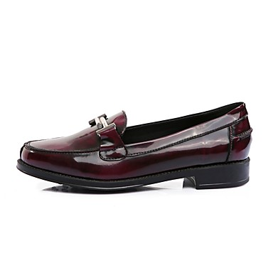 06797090 Mocassins Bottier Chaussures Confort été Vin Printemps Chaussons Femme Nappa et Talon Noir Cuir D6148 Rq6nY